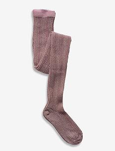 Celosia glitter tights - rajstopy - rose