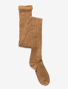 Sofia tights - strømpebukser - brown