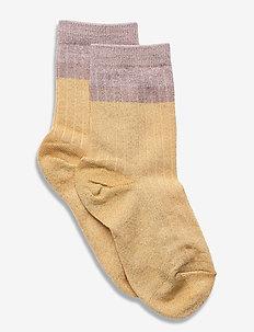 Norma glitter socks - skarpetki - yellow