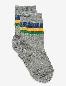 Aksel socks - skarpetki - grey