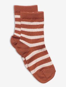 Elis socks - sokker - brown
