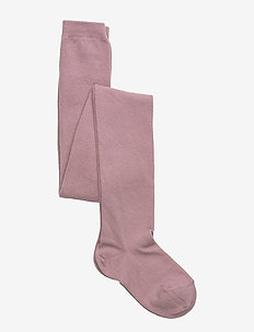 TIGHTS COTTON PLAIN - 188/WOOD ROSE