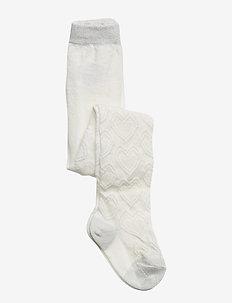 TIGHTS WISTERIA - SNOW WHITE