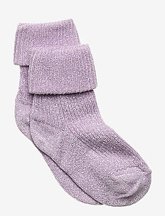 ANKLE IDA BABY W/TURN DOWN - PURPLE