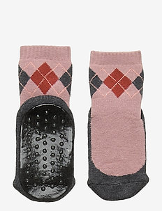 ANKLE ARIEN  SLIPPER WERI - non-slip socks - rose grey