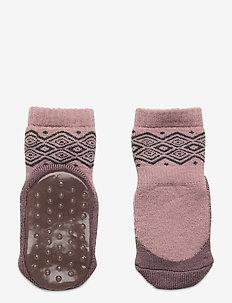 ANKLE BOBBIE TERRY/SOLE WERI - non-slip sokker - rose