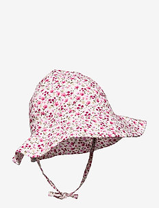 LISA SUN HAT - ROSE GREY