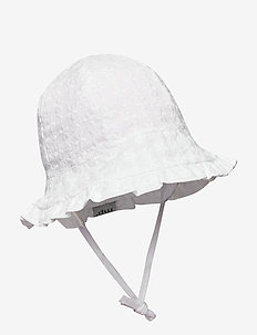 FLORA BELL HAT - WHITE