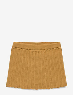 PLISSÉ SKIRT - WOOD TRUSH
