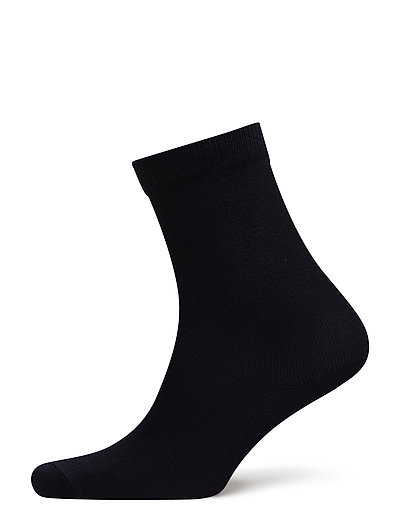 ANKLE COTTON PLAIN - DARK NAVY