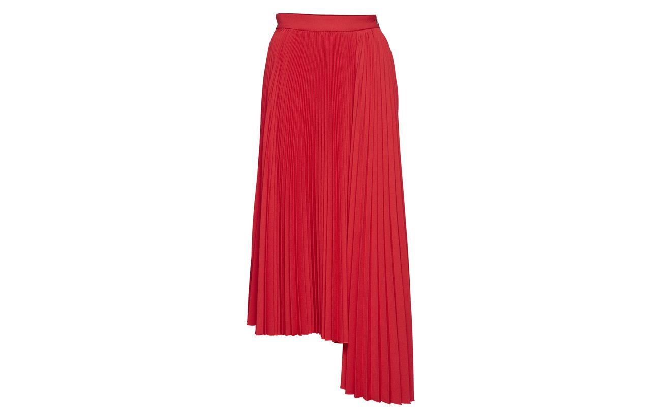 2 Msgm 98 Polyester Elastane Gonna Skirt Red nq1FXBvq