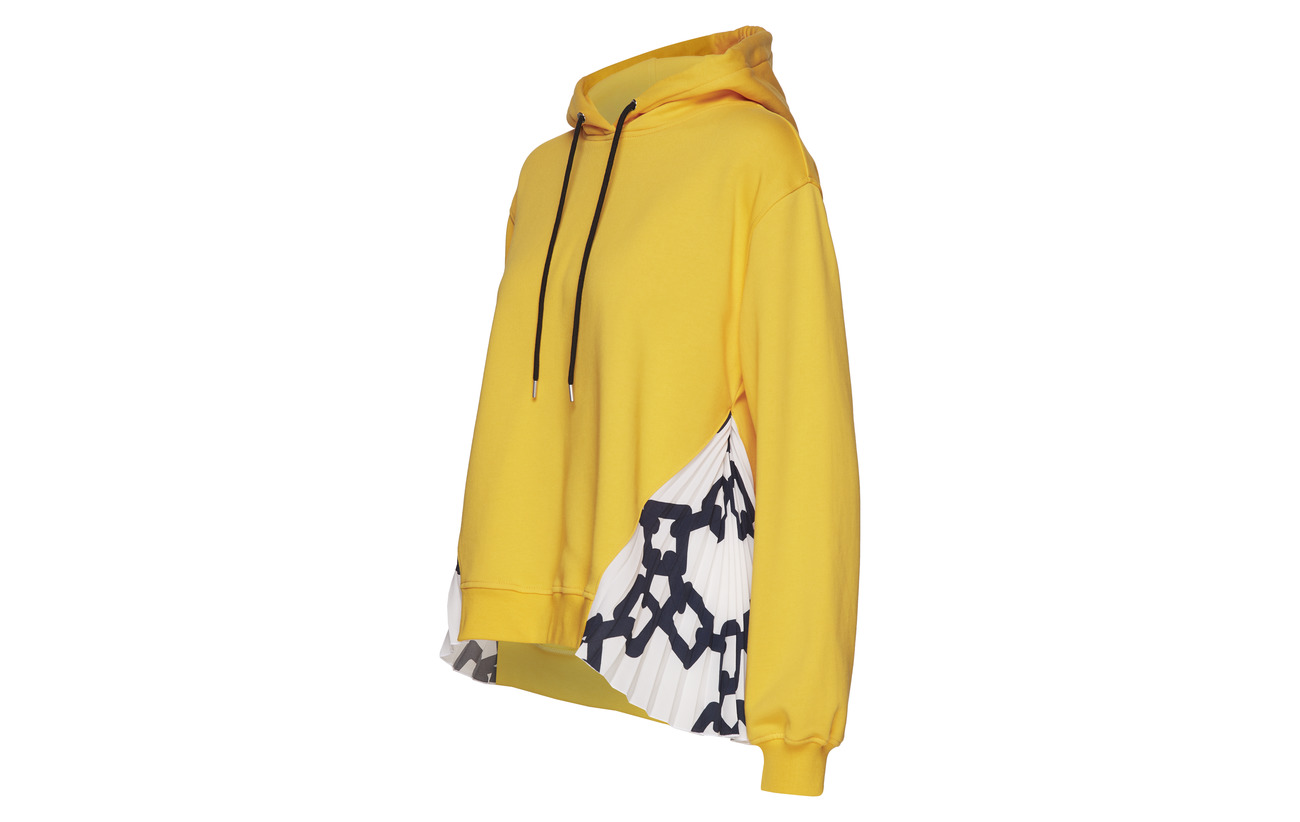 Yellow Felpasweatshirt 100 Msgm Coton Msgm Felpasweatshirt 8WxP0ROtq