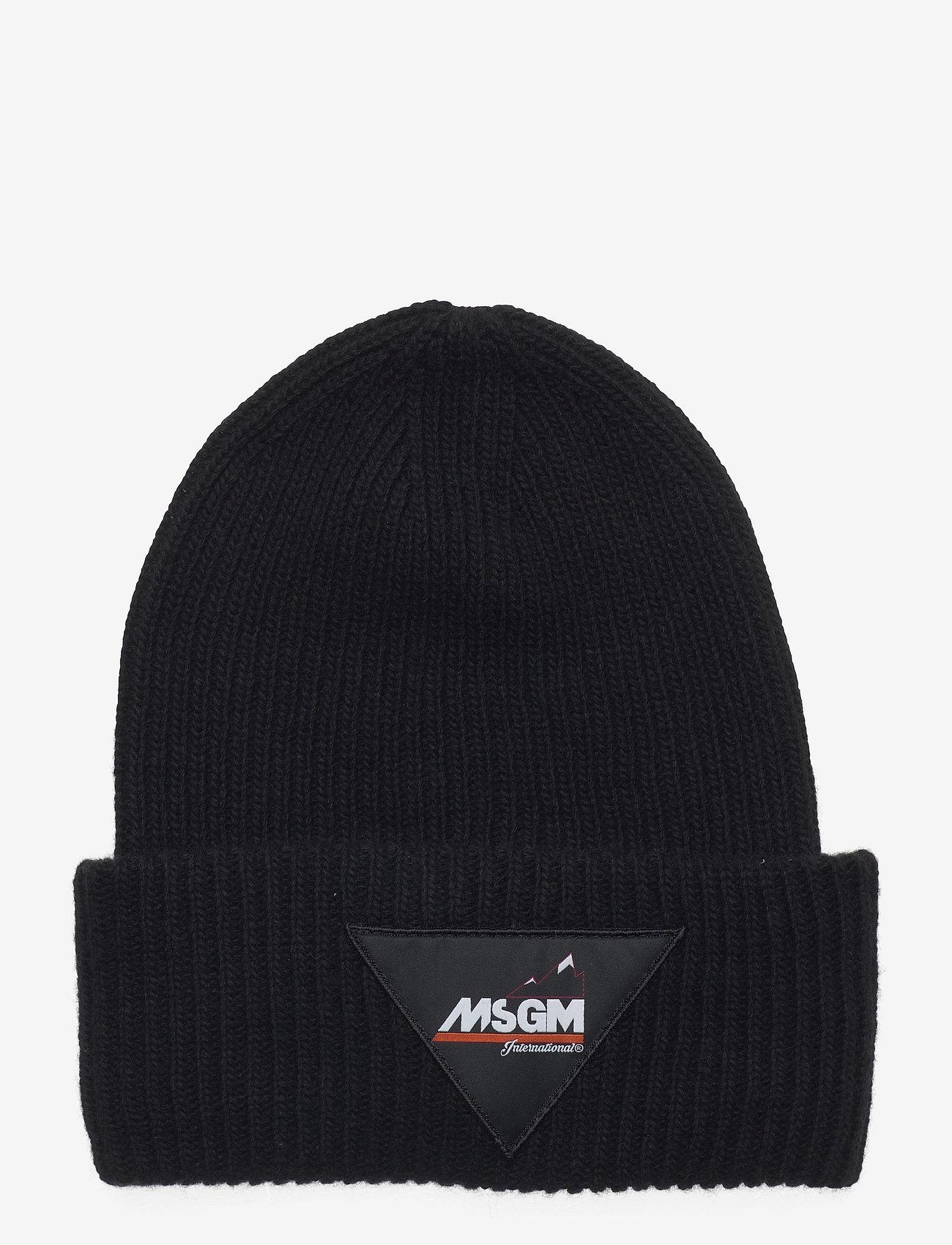 MSGM - Cap - bonnets & casquettes - black - 0