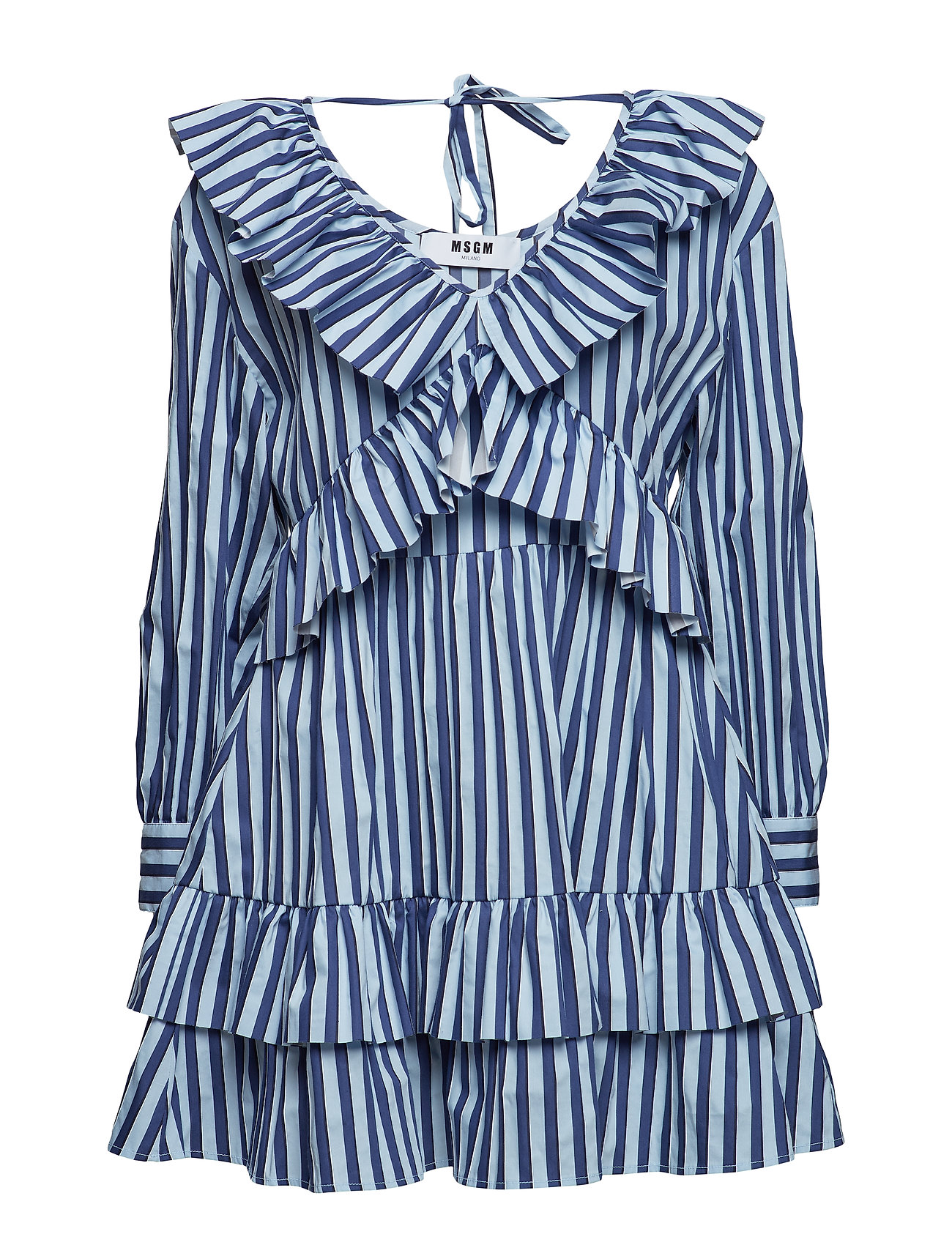 MSGM DRESS - BLUE