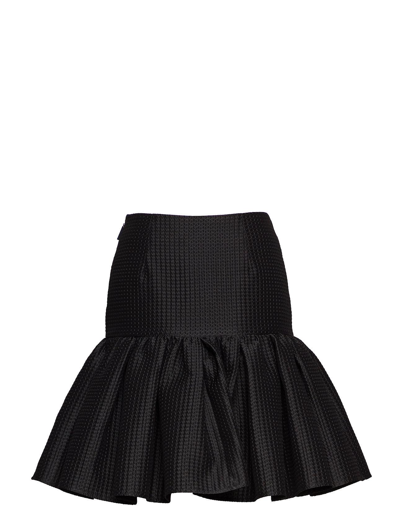 Skirt Kort Nederdel Sort MSGM