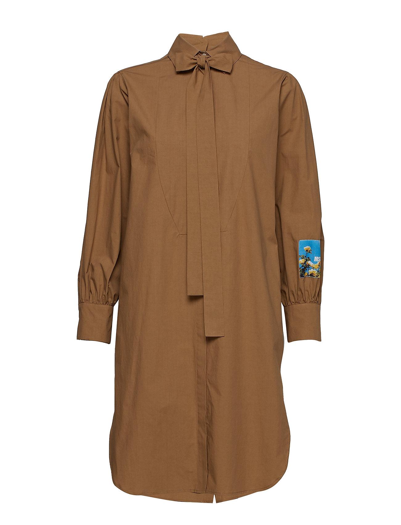 MSGM DRESS - BEIGE