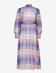 MSGM - DRESS - midi dresses - blue - 0