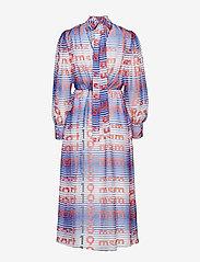 MSGM - DRESS - midi dresses - blue - 1