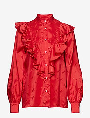 MSGM - SHIRT - long sleeved blouses - red - 0