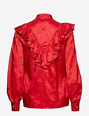 MSGM - SHIRT - long sleeved blouses - red - 1