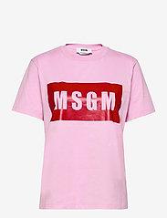 MSGM - T-SHIRT/T-SHIRT - t-shirts - pink - 0