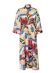 ABITO DRESS - MULTI COLOURED