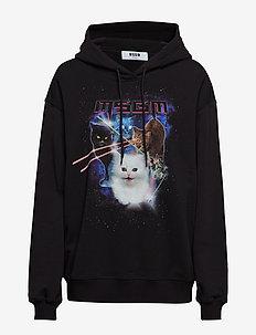 SPACE CATS SWEATSHIRT - BLACK