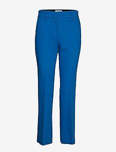 HEAVY DOUBLE CREPE CADY PANTS - BLUE