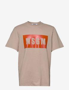 T-shirt - t-shirts à manches courtes - beige