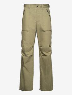Pants - bojówki - green