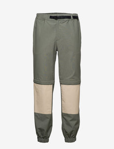 Pants - pantalon cargo - green