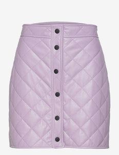 3141MDD23 217616 - korte nederdele - purple