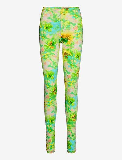 LEGGINGS/LEGGINGS - leggings - green