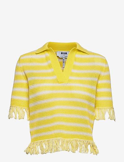 MAGLIA/SWEATER - hauts tricotés - yellow