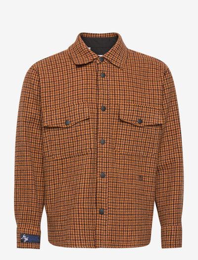 Shirt - linneskjortor - orange