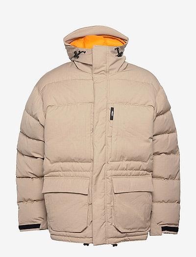Jacket - donsjassen - beige
