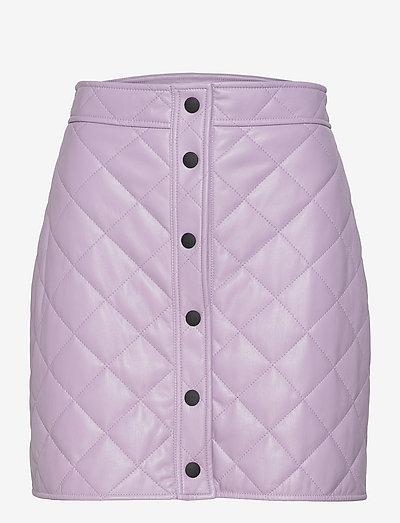 3141MDD23 217616 - korta kjolar - purple