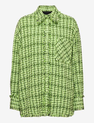 3141MDE18 217624 - jeansskjortor - green