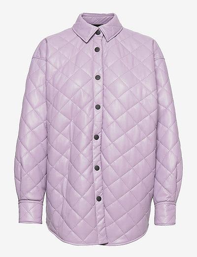 3141MDH13 217616 - quiltade jackor - purple
