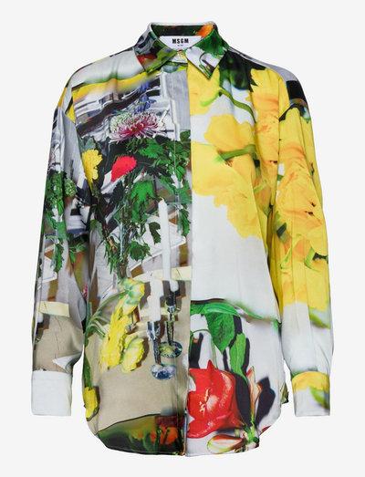 CAMICIA/SHIRT - jeansskjortor - multicolor