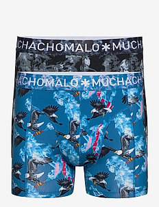 1010CLINTON-MONICA AFFAIR04 2P BOXER - boxers - blue/black