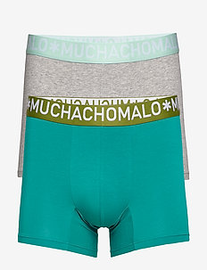 1132 COTTON FREEZER SOLID - GREEN/GREY MELANGE