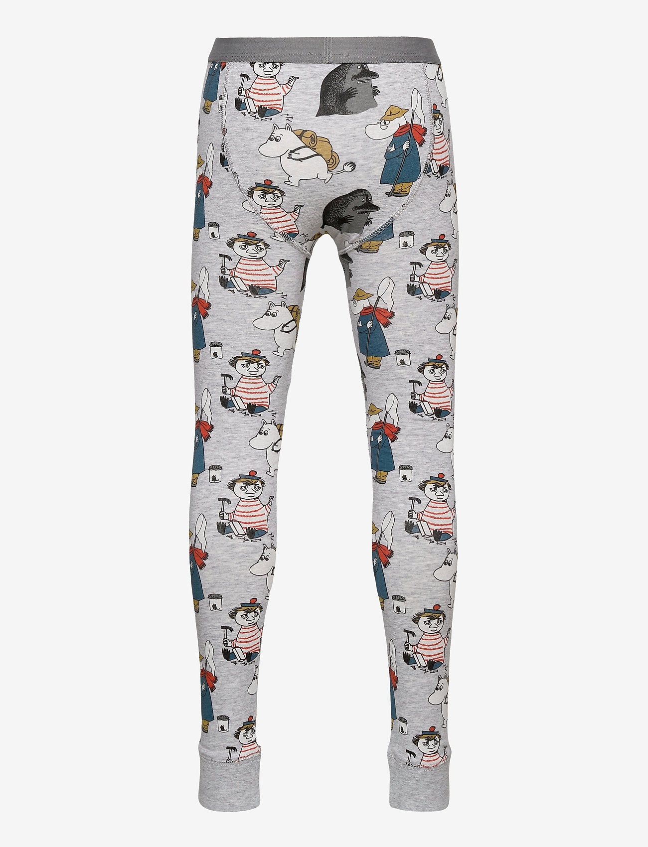 Mumin - YIKES LONG JOHNS - basislag - grey - 1