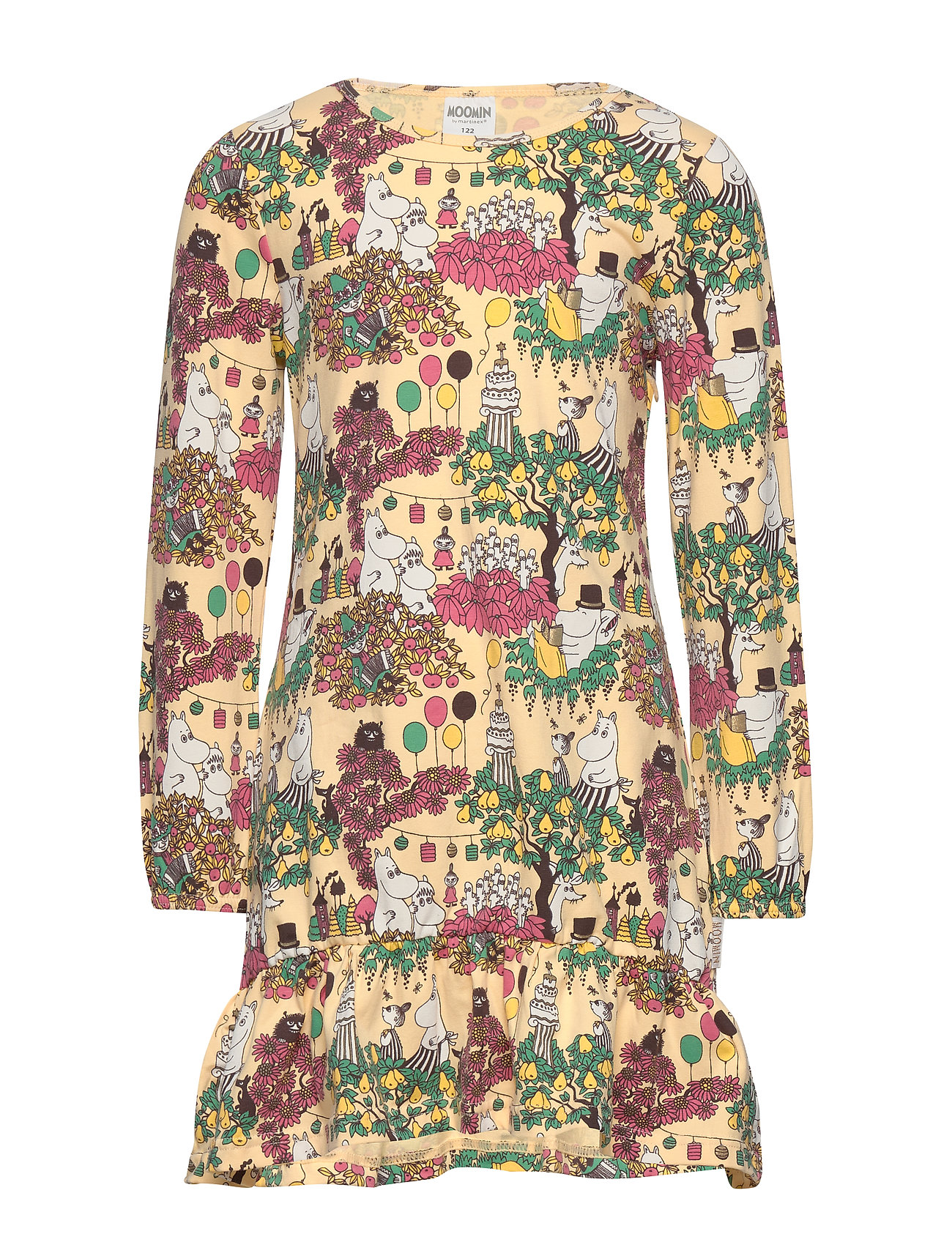 Mumin PARTY MOMENT TUNIC - YELLOW
