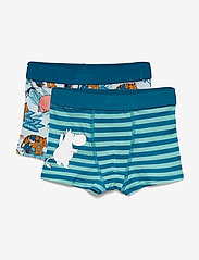 Mumin - JUNGLE BOXERS 2-pack - doły - blue - 0