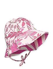 JUNGLE FLOWER HAT - PINK