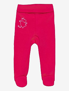 MOOMIN BABY PANTS FOOTED - byxor - red