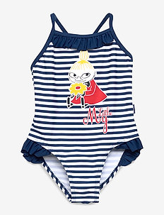 SWIMSUIT STRIPE - BLUE