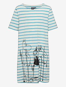 JUULI DRESS FLOOD - dresses - blue