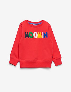 LOGO SWEATSHIRT - bluzy - red